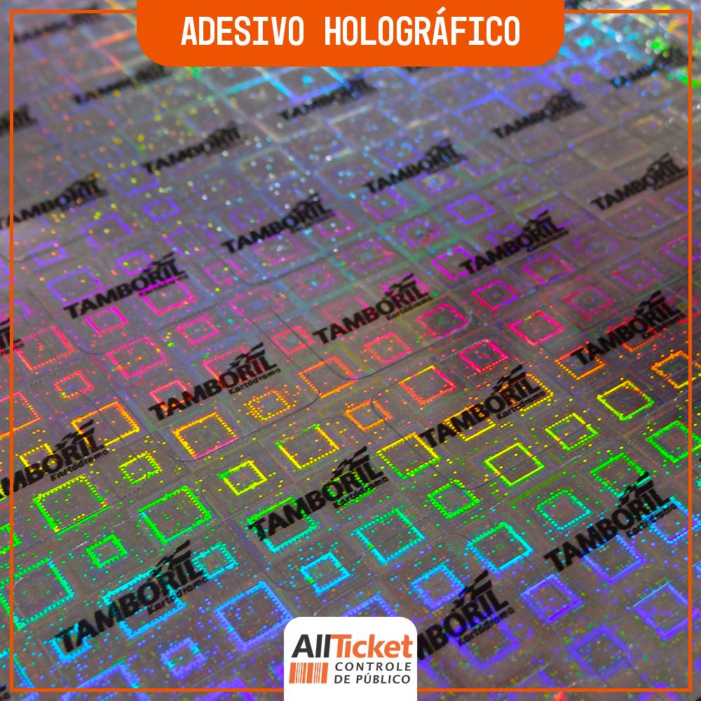 Adesivo Holográfico