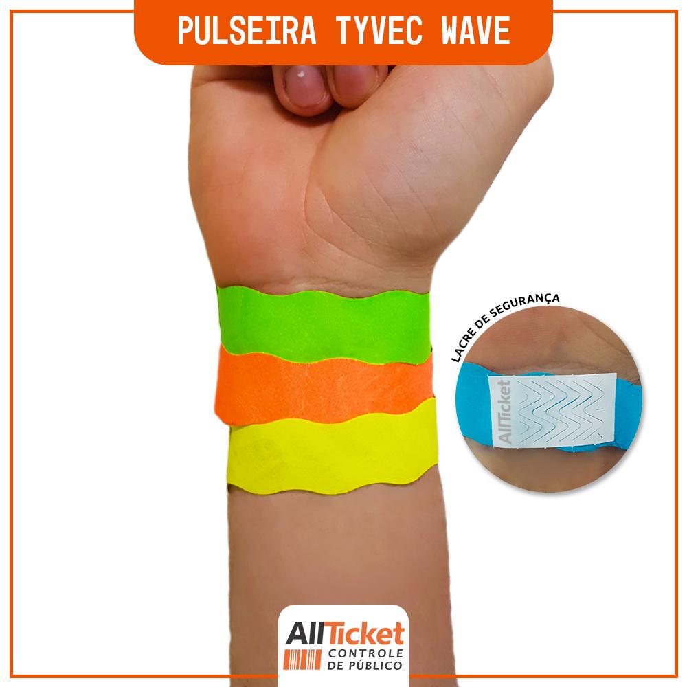 Pulseira Tyvec Wave