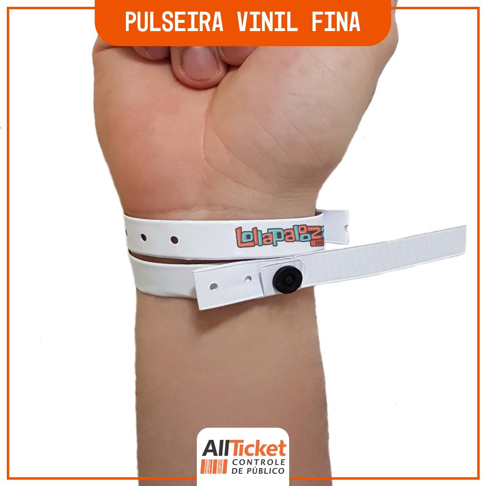 Pulseira Vinil Fina