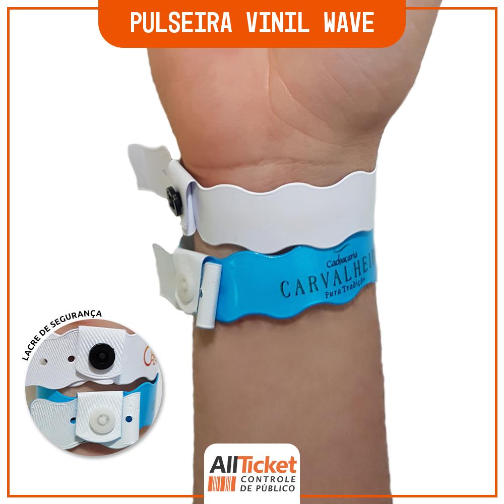 Pulseira Vinil Wave